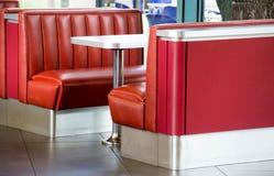 Wagon-restaurant américain Photo libre de droits
