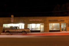 Wagon-restaurant au Mississippi image stock