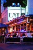Wagon-restaurant d'empire, New York photos stock