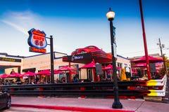 Wagon-restaurant de l'artère 66 photo libre de droits