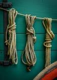 Wagon Ropes stock photo