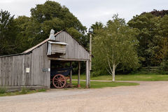 Wagon Shed Royalty Free Stock Photos