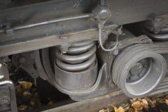 Wagon suspension bracket Royalty Free Stock Images