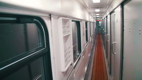 Wagon Train Compartment stock video