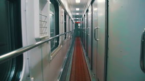 Wagon Train Compartment stock video footage