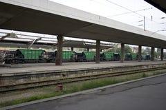 Wagon train Royalty Free Stock Image