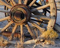 Wagon wheel Stock Photos