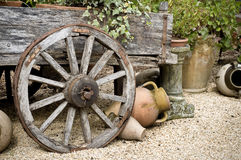 Wagon wheel Stock Images