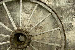 Wagon Wheel Royalty Free Stock Photos