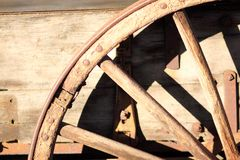 Wagon wheel Royalty Free Stock Photography