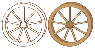 Wagon wheel Stock Photography