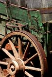 Wagon wheel. Vintage wagon royalty free stock photos