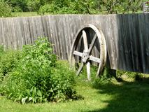 Wagon Wheel. Vintage wagon wheel stock images