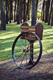 Wagon wheel in Avos Royalty Free Stock Images