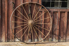 Wagon Wheel Background Royalty Free Stock Photography