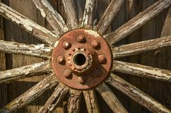 Weathered Wheel Stock Images