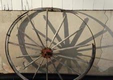 Wagon wheel. Royalty Free Stock Photography