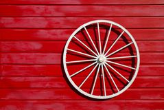 Wagon Wheel Ornament Stock Photography