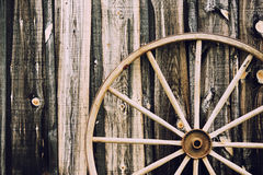 Wagon Wheel - Retro Royalty Free Stock Photos
