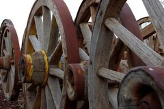 Wagon Wheels Stock Photos