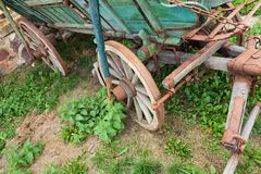 Wagon wheels Stock Images