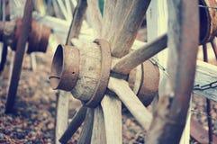 Wagon wheels. Old wagon wheels in Sedona, Arizona Stock Photography