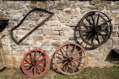 Wagon wheels Royalty Free Stock Photos
