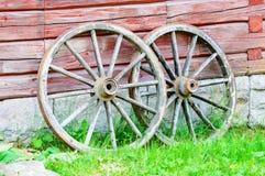 Wagon wheels Stock Photography