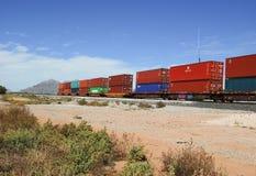 Wagons de chemin de fer Photos libres de droits