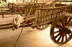 Wagons in Thai museum Stock Images