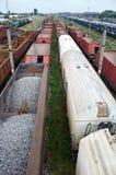 Wagons train Royalty Free Stock Photo