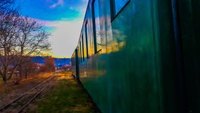 train wagons royalty free stock image