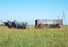 Wagons West Royalty Free Stock Image