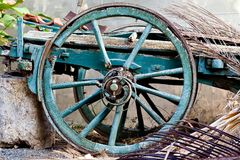 Wagons Wheel Stock Image