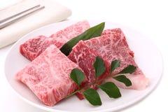 Wagyu, βόειο κρέας του Kobe, ιαπωνικό βόειο κρέας στοκ εικόνα με δικαίωμα ελεύθερης χρήσης