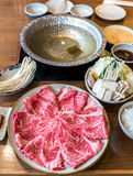 Wagyu beef Shabu hot pot set