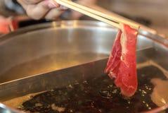 Wagyu Beef shabu Royalty Free Stock Image