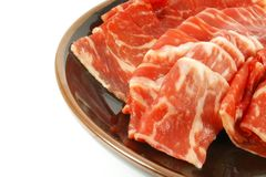 Wagyu Beef Strips Premium Meat royalty free stock photo