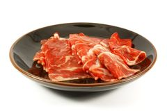 Wagyu Beef Strips Premium Meat royalty free stock photos