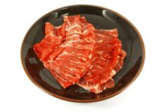 Wagyu Beef Strips Premium Meat Royalty Free Stock Images