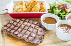 Wagyu rib-eye beef steak Royalty Free Stock Image