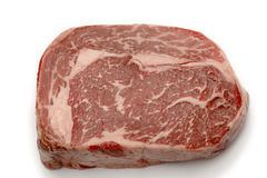 Wagyu ribeye high angle Stock Images
