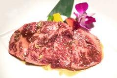 Wagyu Sirloin meat BBQ Stock Photo