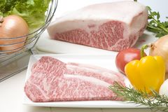 Wagyu Steak Royalty Free Stock Photos