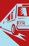 wahadłowa autobusowy powozowy turysta Zdjęcie Stock