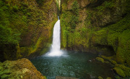 Wahclella Spada Kolumbia rzeki wąwóz Obrazy Royalty Free