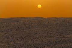 Wahiba lixa - areias de Sharqiya - o sultanato de Omã imagem de stock