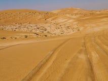Wahiba. Sand Desert, Oman, Arabic Peninsula Stock Photos