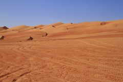 The Wahiba Sands Stock Photography