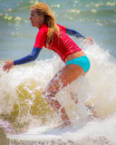 2015 Wahine Surf Classic Royalty Free Stock Photo